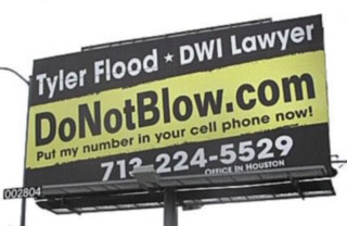 DoNotBlow Billboard Sign